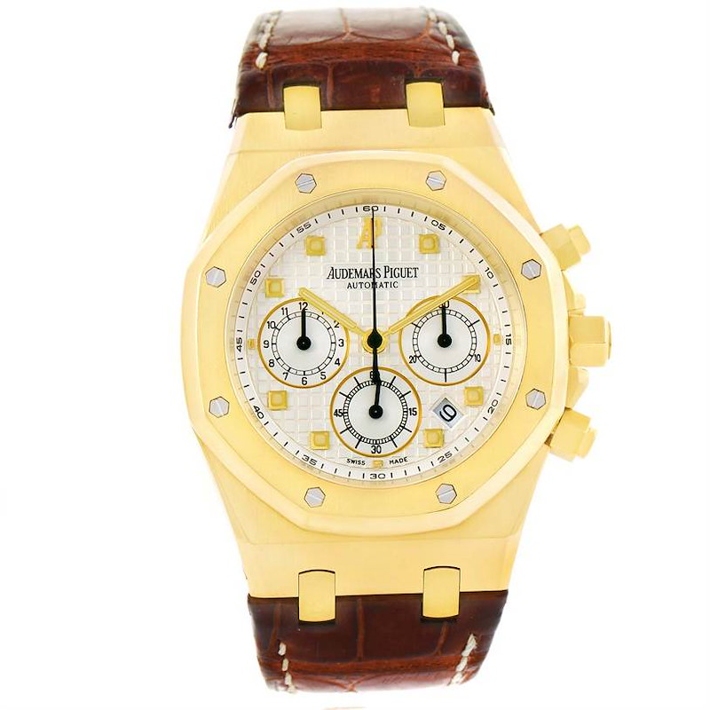 Audemars Piguet Royal Oak 18K Yellow Gold Watch 26022BA.OO.D088CR.01 SwissWatchExpo