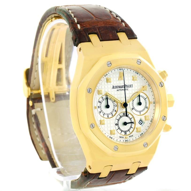 5750P Audemars Piguet Royal Oak 18K Yellow Gold Watch 26022BA.OO.D088CR.01 SwissWatchExpo