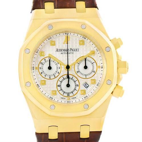 Photo of Audemars Piguet Royal Oak 18K Yellow Gold Watch 26022BA.OO.D088CR.01