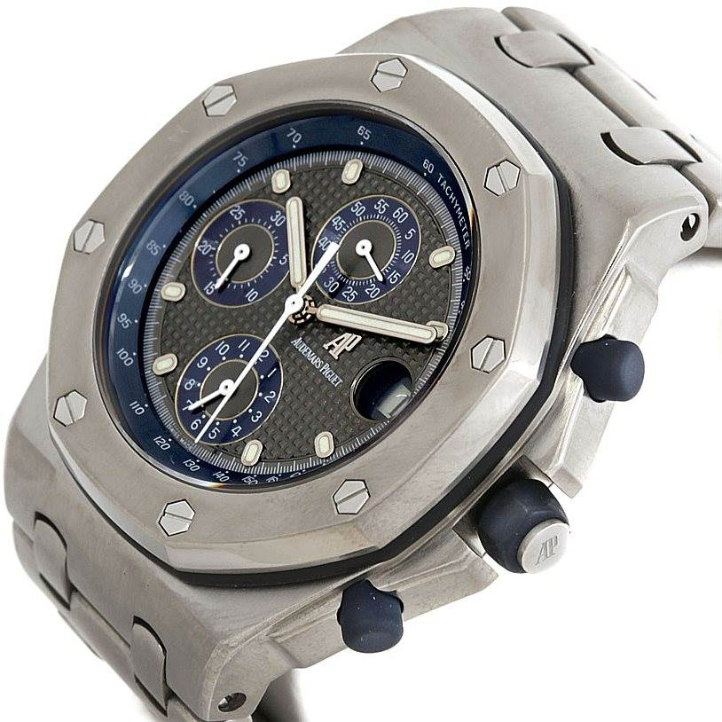 Audemars Piguet Royal Oak Titanium 25721TI.0.1000TI.01 Watch SwissWatchExpo