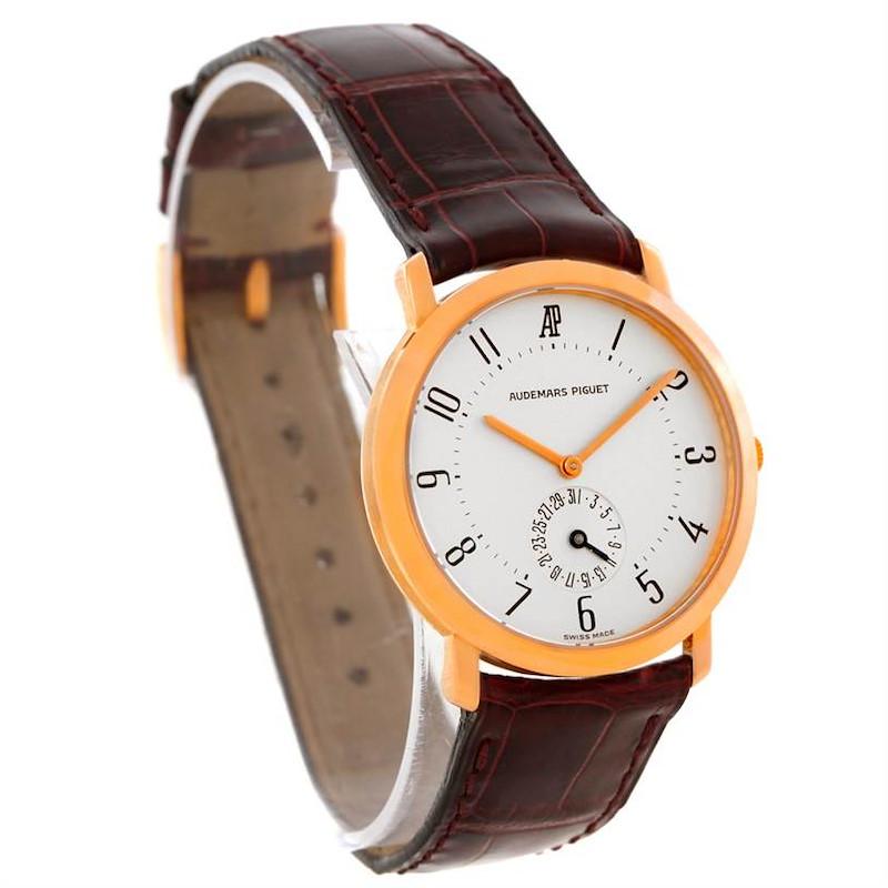 Audemars Piguet Vintage 18K Rose Gold Watch SwissWatchExpo