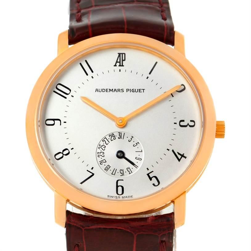 Audemars Piguet Vintage 18K Rose Gold Watch