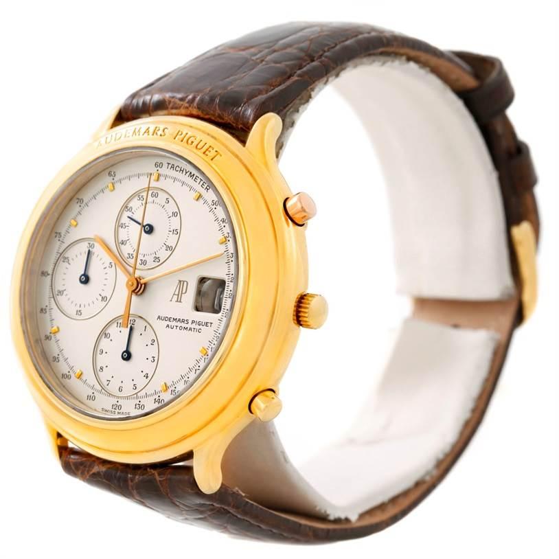 Audemars Piguet Huitieme Yellow Gold Chronograph Watch 25644.002 SwissWatchExpo