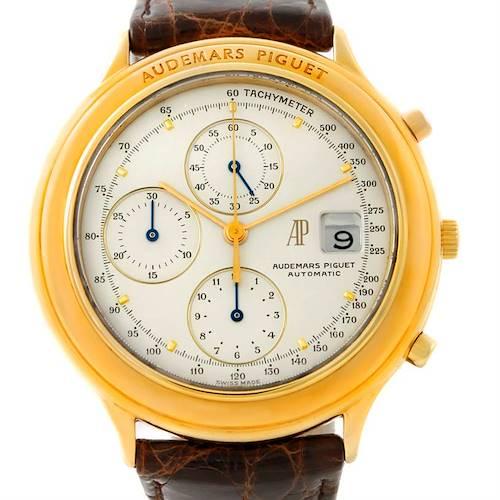 Photo of Audemars Piguet Huitieme Yellow Gold Chronograph Watch 25644.002