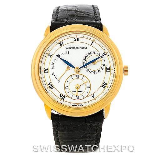 Audemars Piguet Dual Time GMT Power Reserve Watch 25685BA.0.0002 SwissWatchExpo