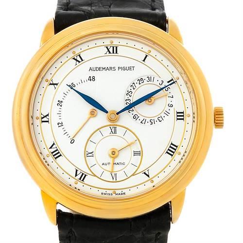 Photo of Audemars Piguet Dual Time GMT Power Reserve Watch 25685BA.0.0002