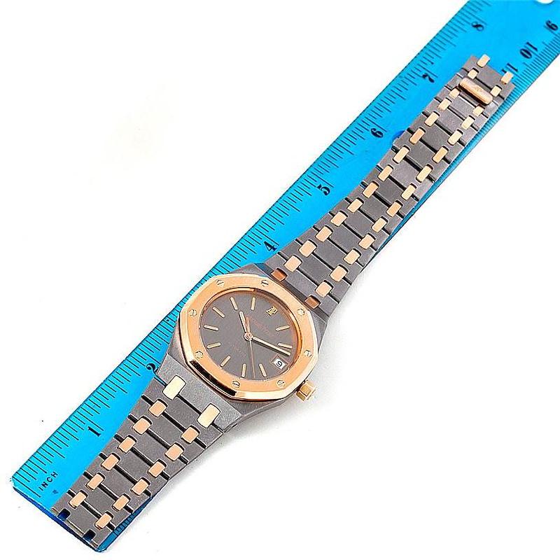 Audemars Piguet Royal Oak Tantalum Rose Gold Watch SwissWatchExpo