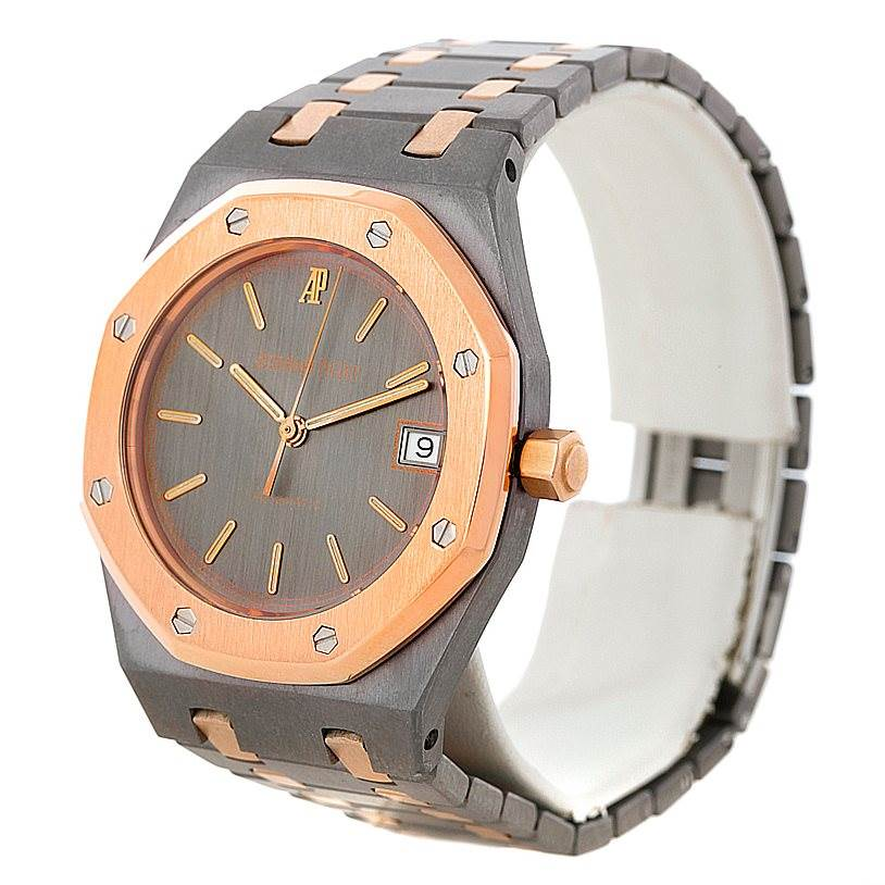 Audemars Piguet Royal Oak Tantalum Rose Gold Watch