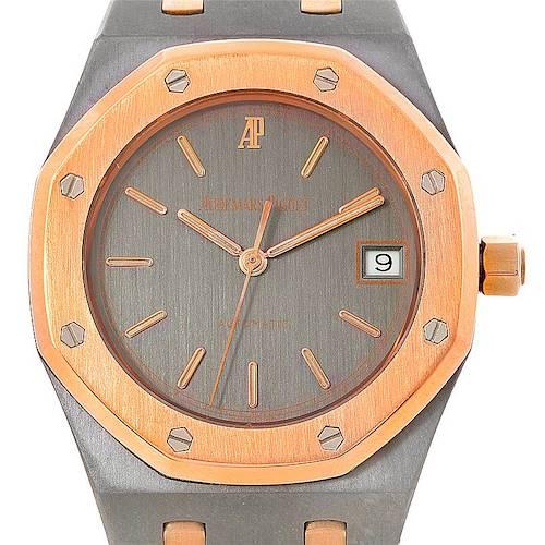 Photo of Audemars Piguet Royal Oak Tantalum Rose Gold Watch