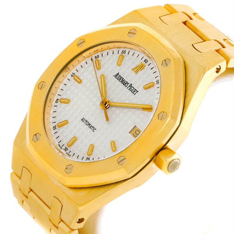 9020 Audemars Piguet Royal Oak 18K Yellow Gold Mens Watch SwissWatchExpo