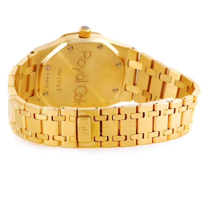Audemars Piguet Royal Oak 18K Yellow Gold Mens Watch SwissWatchExpo