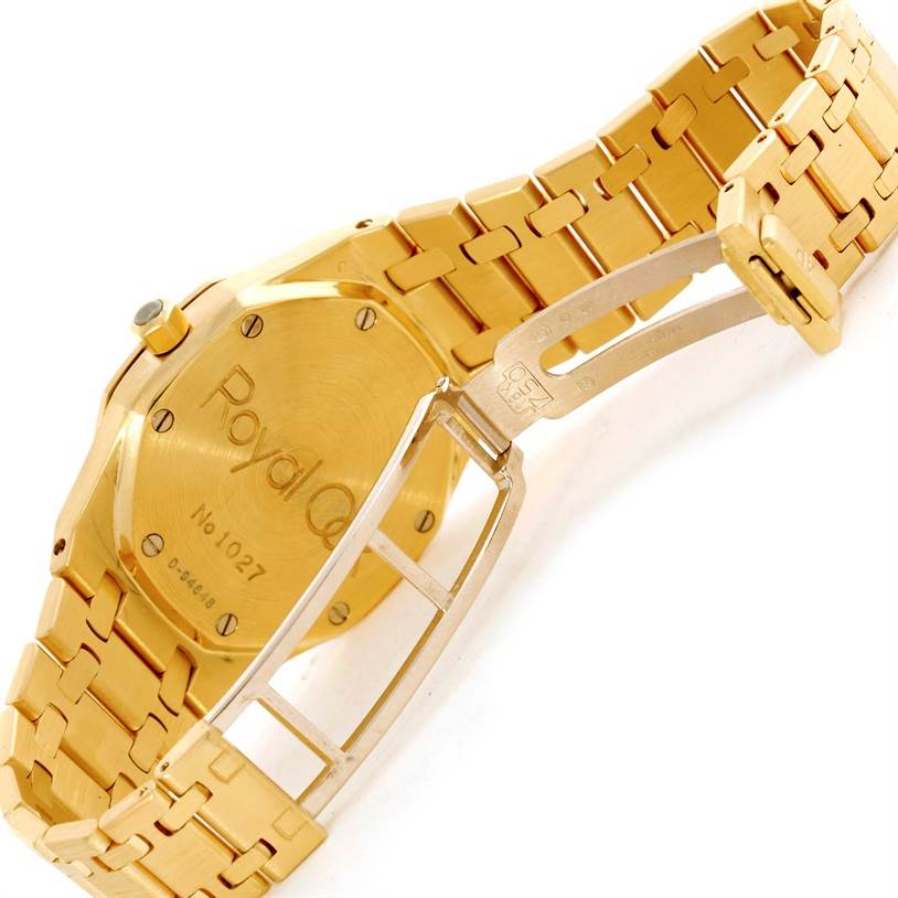 Audemars Piguet Royal Oak 18K Yellow Gold Mens Watch SwissWatchExpo