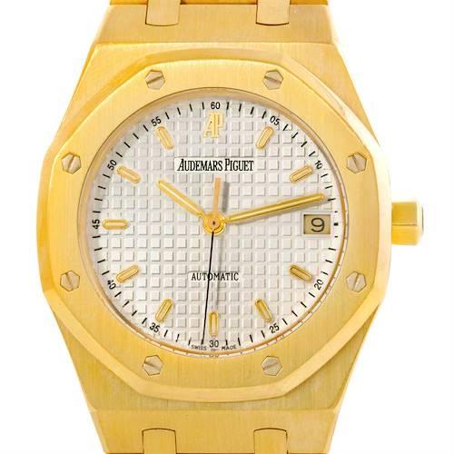 Photo of Audemars Piguet Royal Oak 18K Yellow Gold Mens Watch