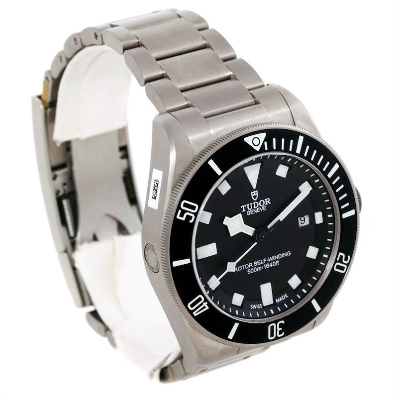 Tudor Pelagus 25500TN Titanium Stainless Steel Mens Watch Unworn SwissWatchExpo