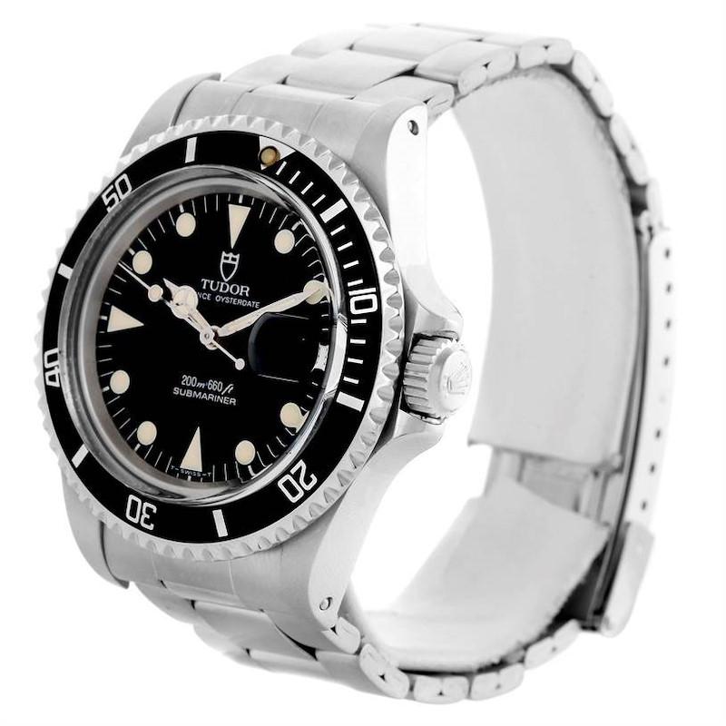 Tudor Submariner Prince Oysterdate Stainless Steel mens Watch 79090 SwissWatchExpo
