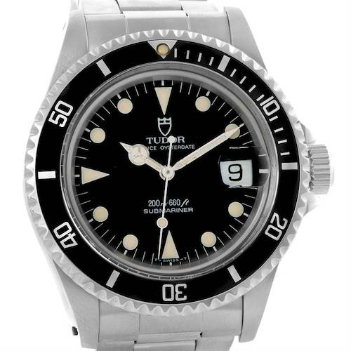 Photo of Tudor Submariner Prince Oysterdate Stainless Steel mens Watch 79090