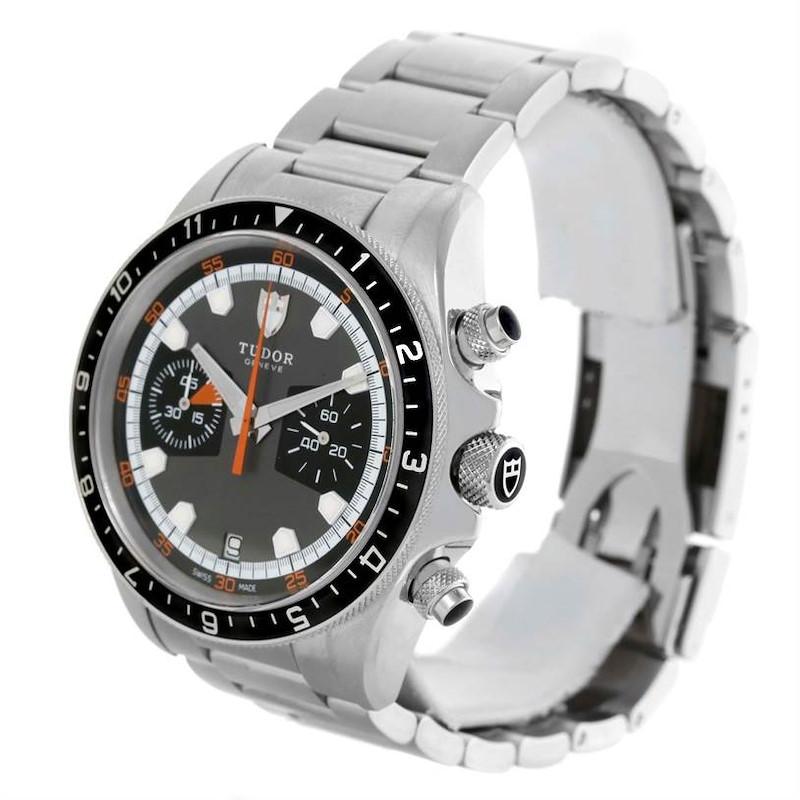 Tudor Heritage Chrono Grey Dial Steel Mens Watch 70330N-95740 SwissWatchExpo