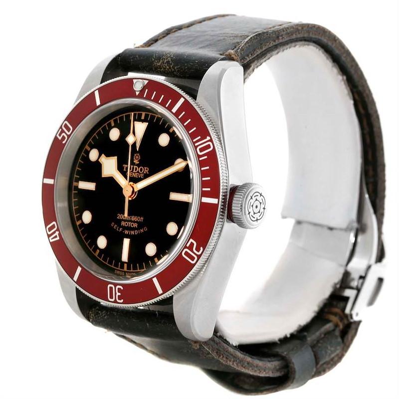 Tudor Heritage Black Bay Stainless Steel Watch 79220R Box SwissWatchExpo