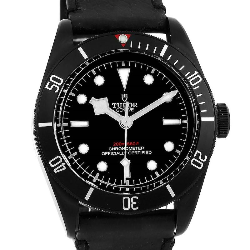 Tudor Heritage Black Bay Dark PVD Coated Watch 79230DK Unworn SwissWatchExpo