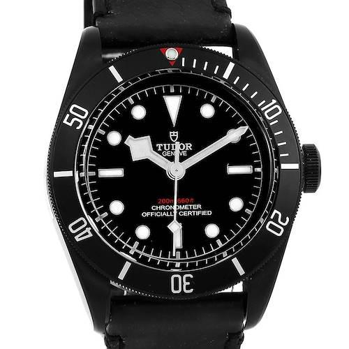 Photo of Tudor Heritage Black Bay Dark PVD Coated Watch 79230DK Unworn