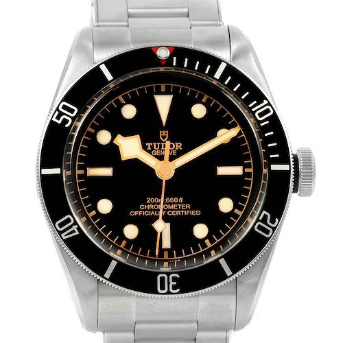 Photo of Tudor Heritage Black Bay Automatic Steel Watch 79230N Unworn