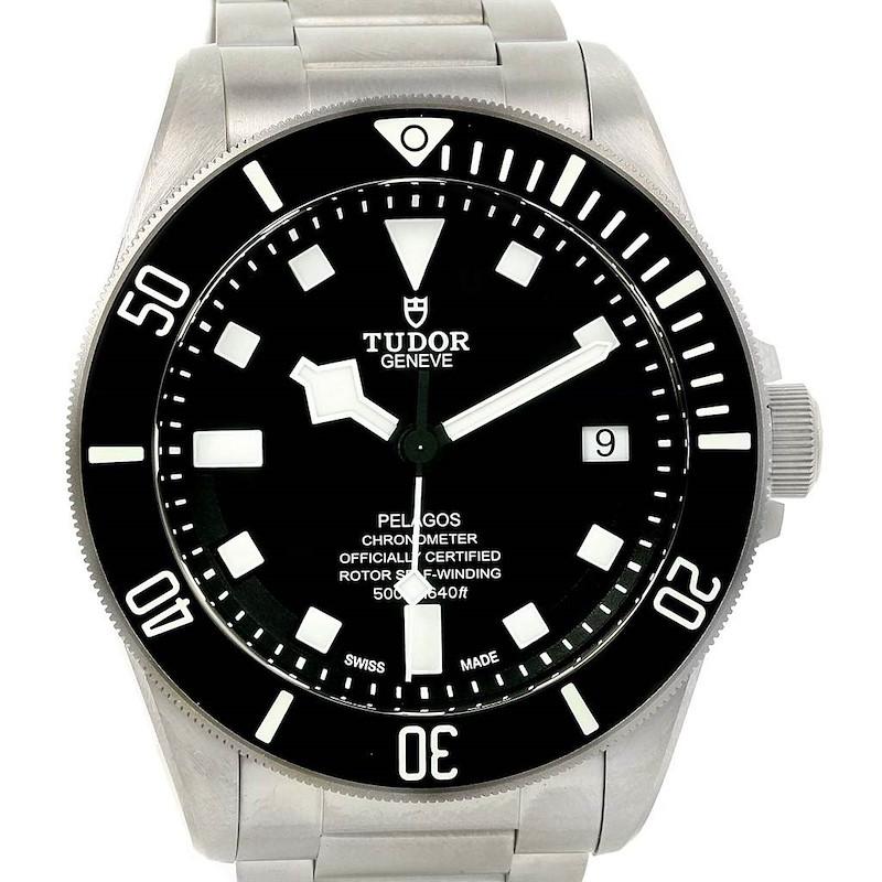 Tudor Pelagos Titanium Stainless Steel Mens Watch 25600TN Unworn SwissWatchExpo