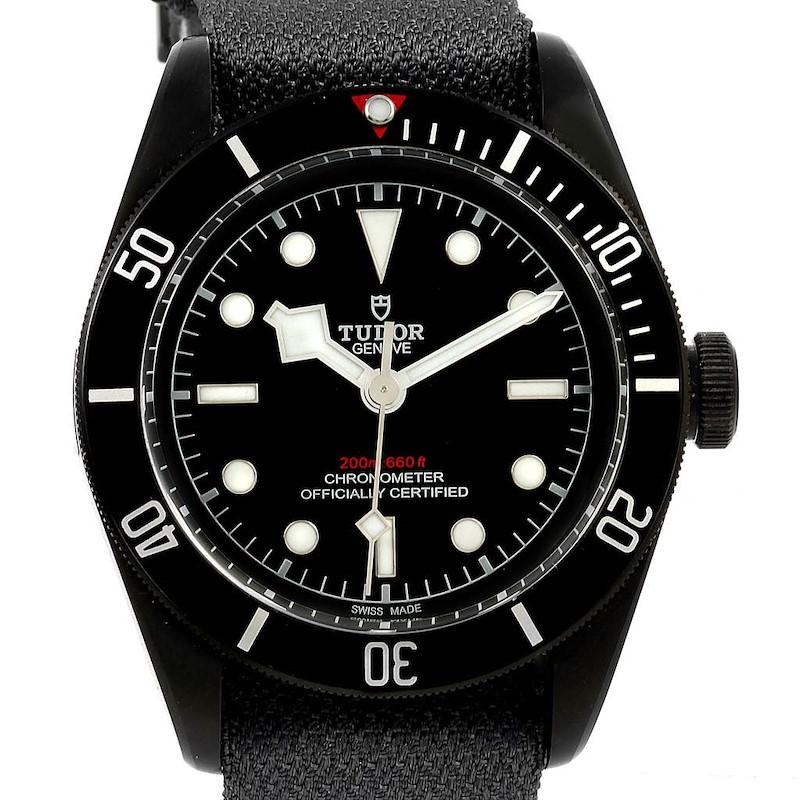 Tudor Heritage Black Bay Dark PVD Coated Mens Watch 79230DK Box Papers SwissWatchExpo