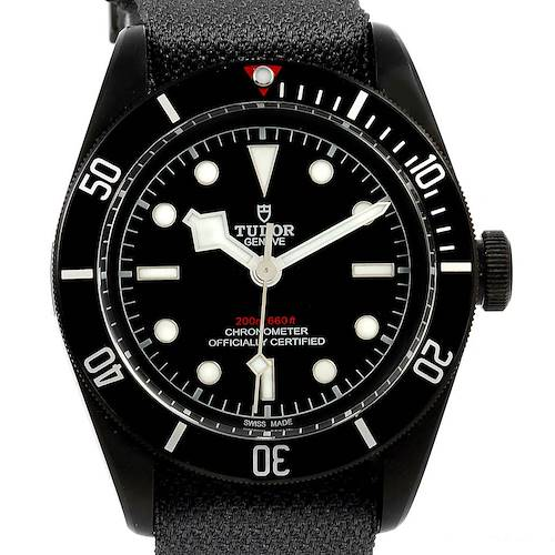 Photo of Tudor Heritage Black Bay Dark PVD Coated Mens Watch 79230DK Box Papers