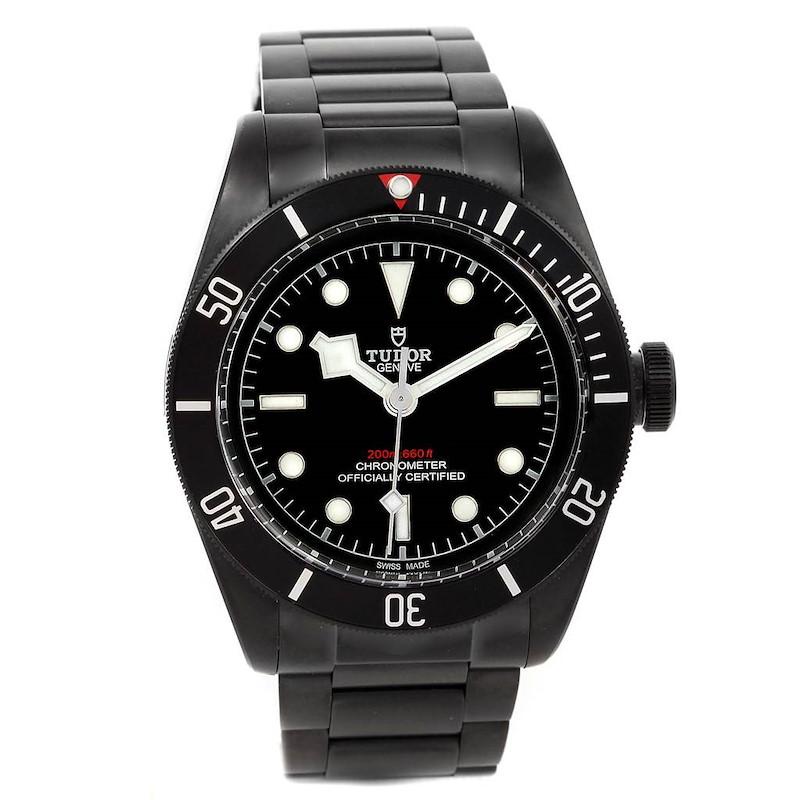 Tudor Heritage Black Bay Dark PVD Coated Mens Watch 79230DK Unworn SwissWatchExpo