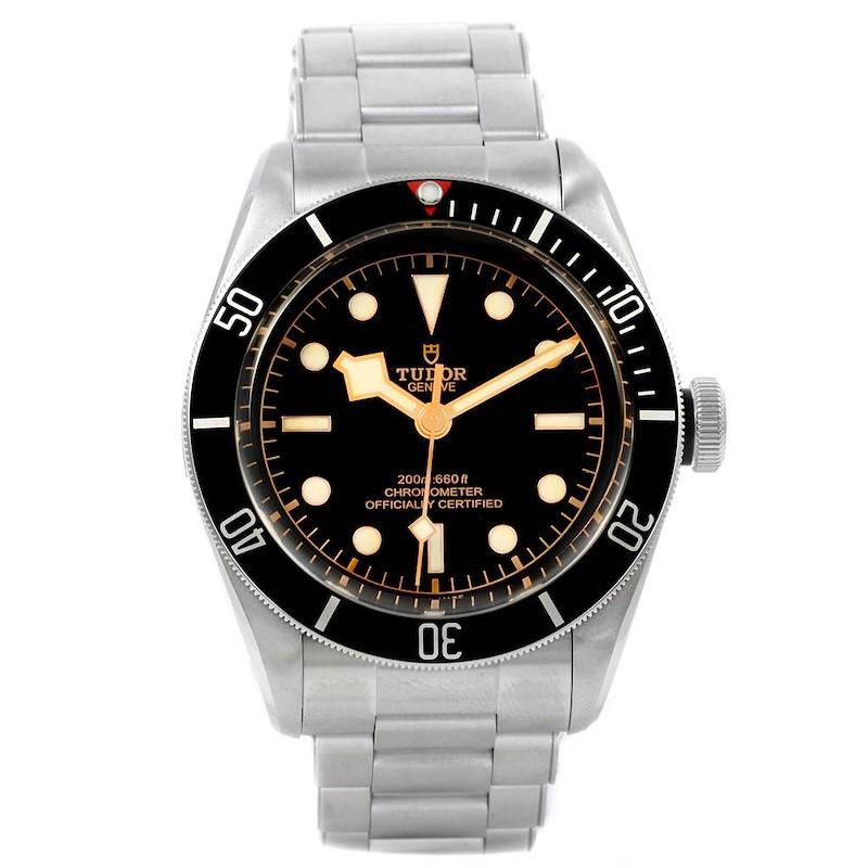 Tudor Heritage Black Bay Stainless Steel Mens Watch 79230N Unworn SwissWatchExpo