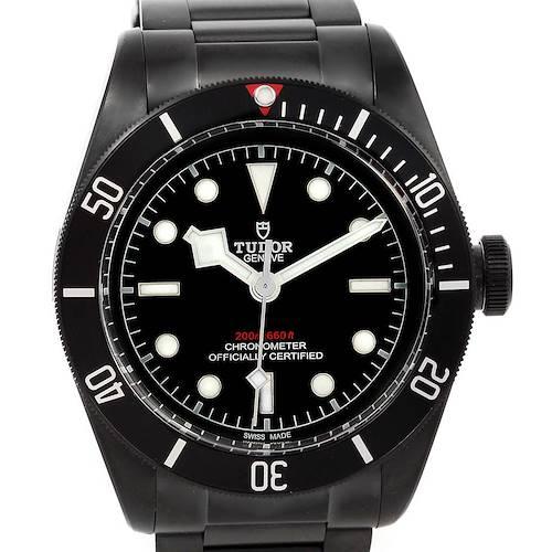 Photo of Tudor Heritage Black Bay Dark PVD Coated Watch 79230DK-BKSS Unworn