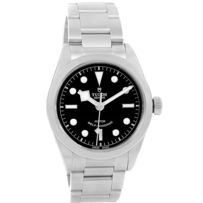 Tudor Heritage Black Bay 36 Steel Mens Watch 79500 Unworn SwissWatchExpo