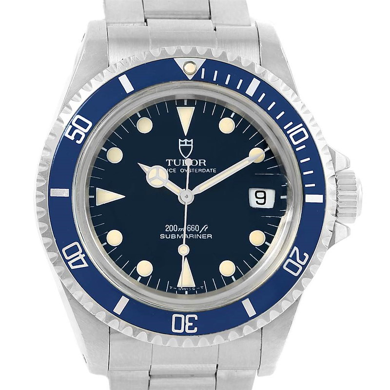 Tudor Submariner Prince Oysterdate Steel Mens Watch 79090 Box Papers SwissWatchExpo