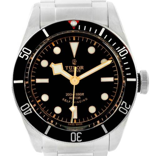 Photo of Tudor Heritage Black Bay Automatic Mens Watch 79220 Box Card