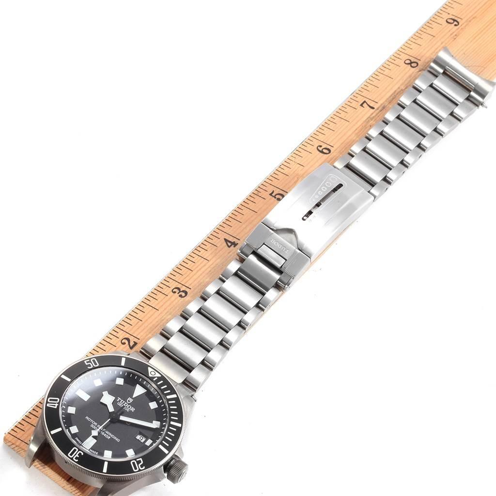 18878 Tudor Pelagos Titanium Steel Black Dial Mens Watch 25500TN SwissWatchExpo