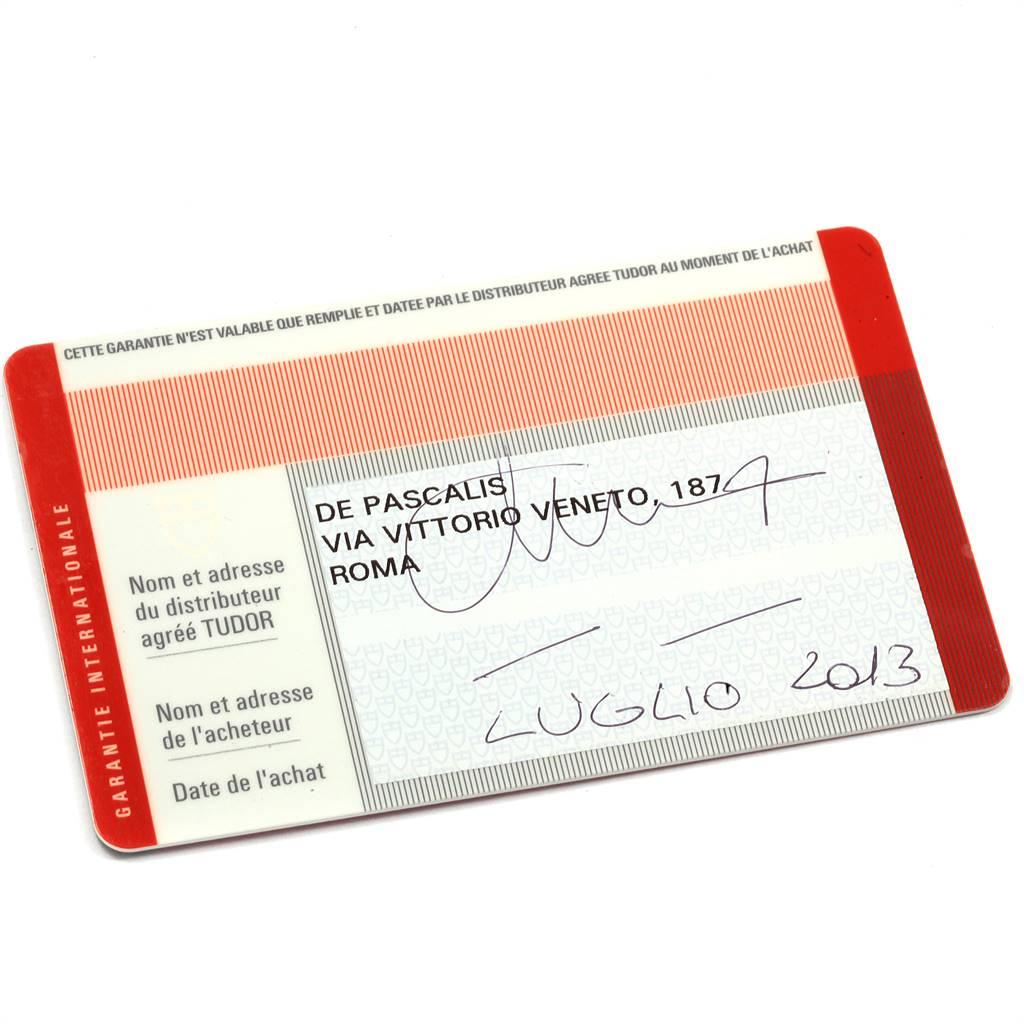 Tudor Pelagos Titanium Steel Black Dial Mens Watch 25500TN Box Card SwissWatchExpo