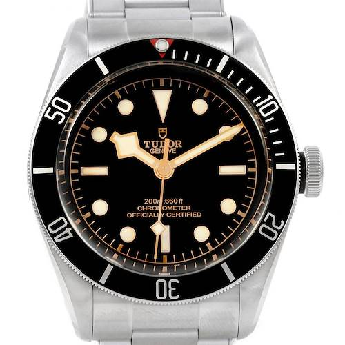 Photo of Tudor Heritage Black Bay Stainless Steel Mens Watch 79230N Box Papers