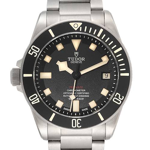 Photo of Tudor Pelagos 42mm LHD Titanium Steel Mens Watch 25610