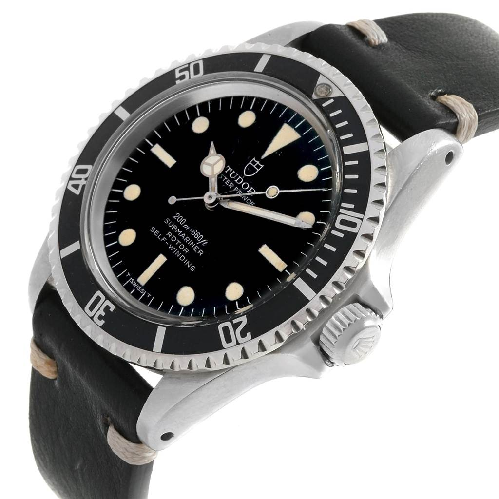 19772 Tudor Oyster Prince Submariner Vintage Steel Mens Watch 7928 SwissWatchExpo