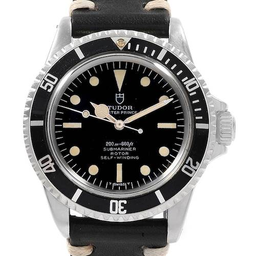 Photo of Tudor Oyster Prince Submariner Vintage Steel Mens Watch 7928