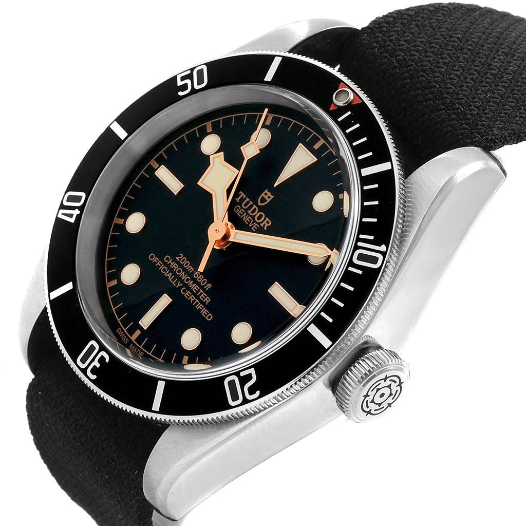 19991 Tudor Heritage Black Bay Stainless Steel Mens Watch 79230N SwissWatchExpo
