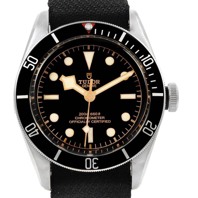 Tudor Heritage Black Bay Stainless Steel Mens Watch 79230N SwissWatchExpo