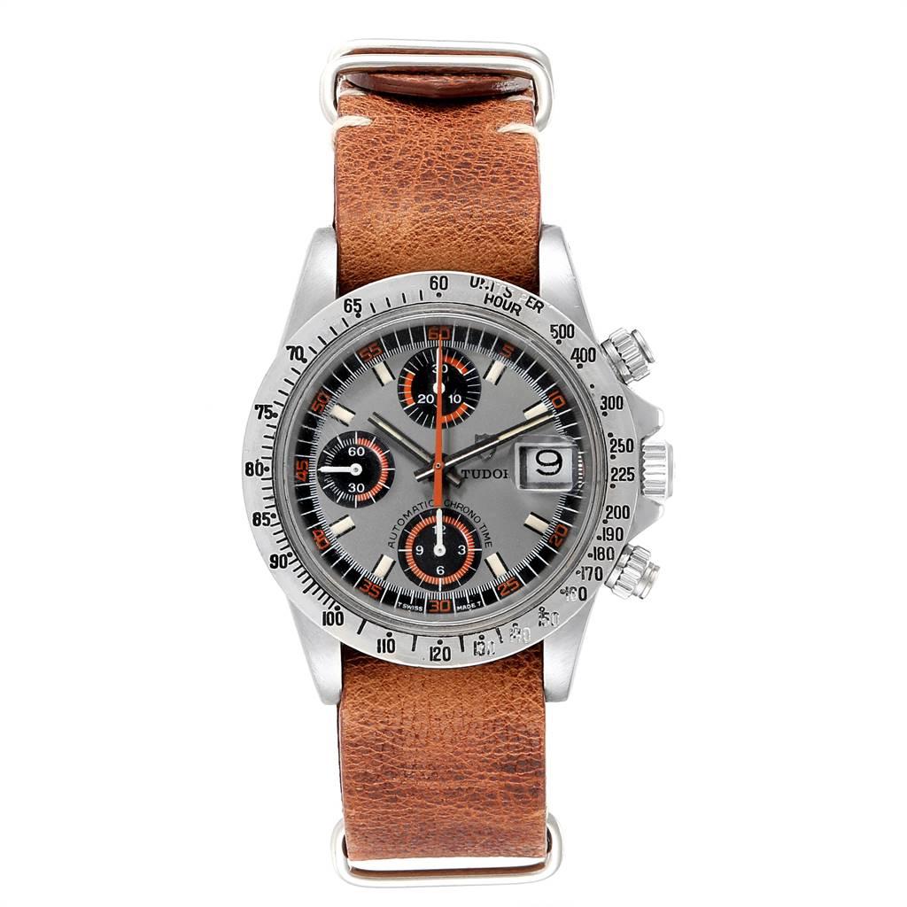 Tudor Big Block Exotic Monte Carlo Vintage Mens Watch 94300 SwissWatchExpo