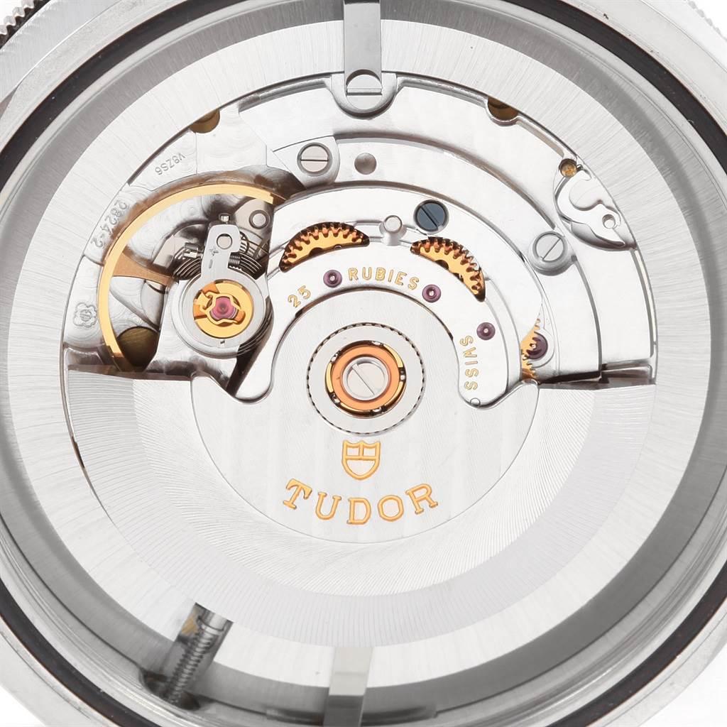 20990 Tudor Heritage Black Bay Blue Bezel Steel Watch 79220B Box Papers SwissWatchExpo