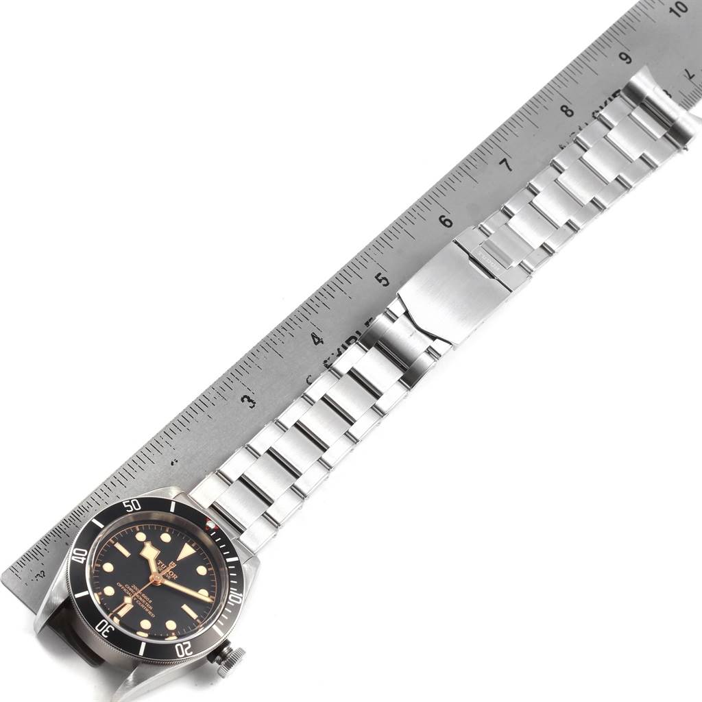 Tudor Heritage Black Bay Stainless Steel Mens Watch 79230N Box Papers SwissWatchExpo