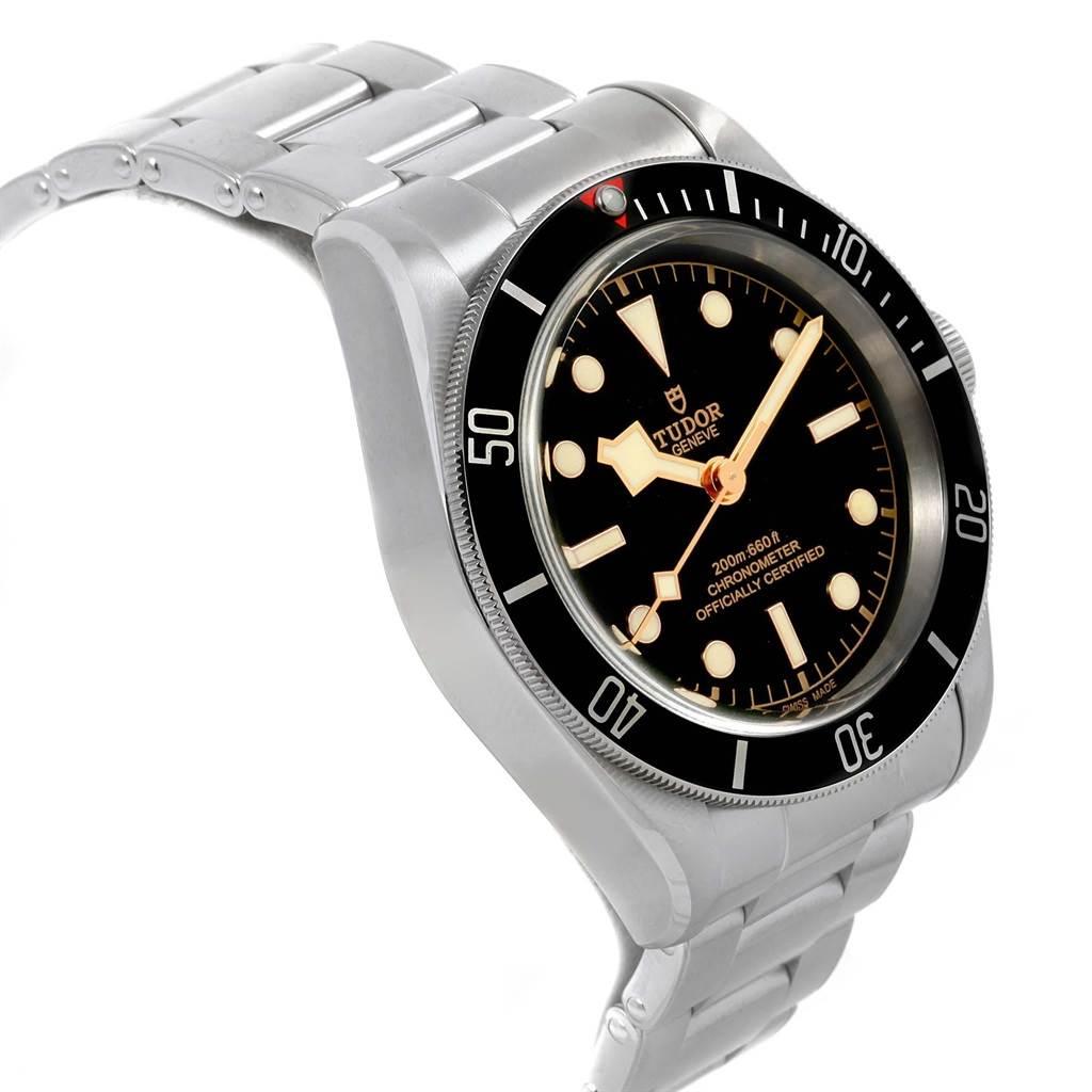 21068 Tudor Heritage Black Bay Stainless Steel Mens Watch 79230N Box Papers SwissWatchExpo
