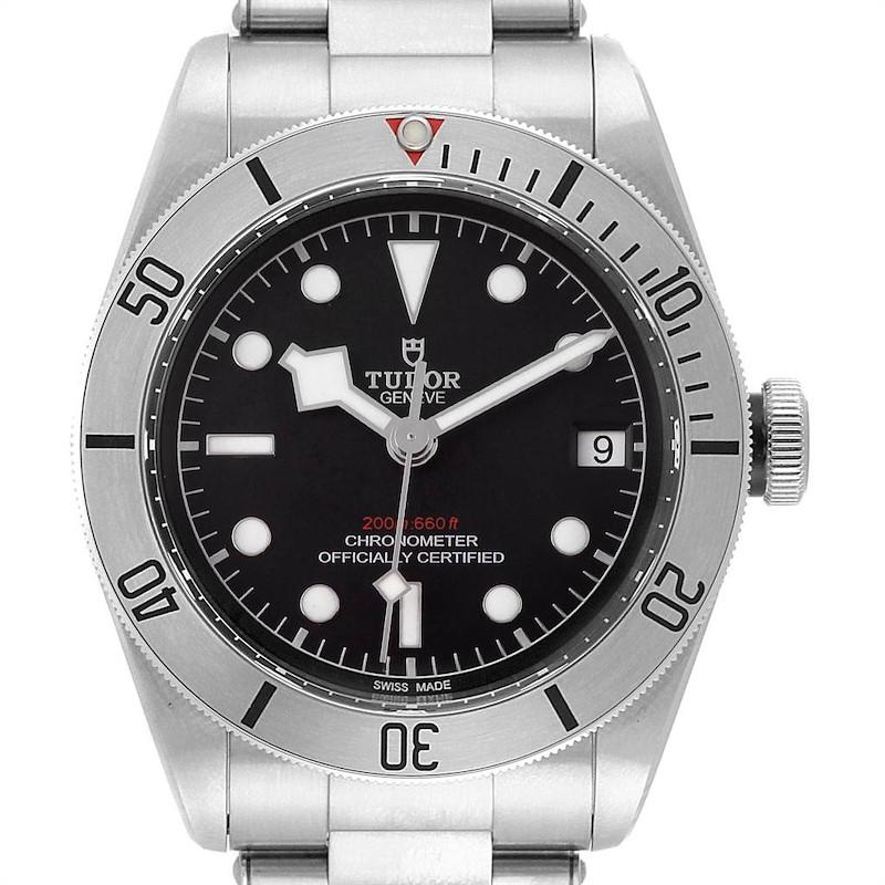 Tudor Heritage Black Bay Stainless Steel Mens Watch 79730 Unworn SwissWatchExpo