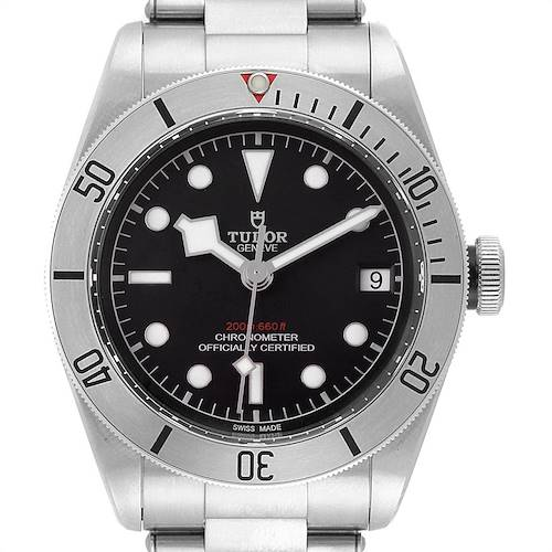 Photo of Tudor Heritage Black Bay Stainless Steel Mens Watch 79730 Unworn