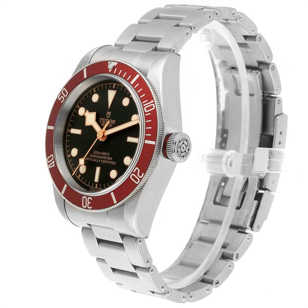 22480 Tudor Heritage Black Bay Burgundy Bezel Mens Watch 79230R Box Papers SwissWatchExpo