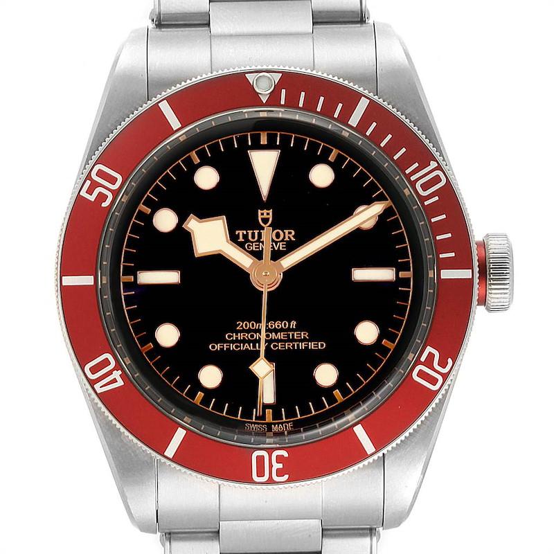 Tudor Heritage Black Bay Burgundy Bezel Mens Watch 79230R Box Papers SwissWatchExpo